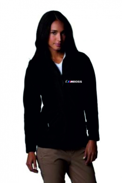 IM BOSS Women's Full Zip Active Fleece